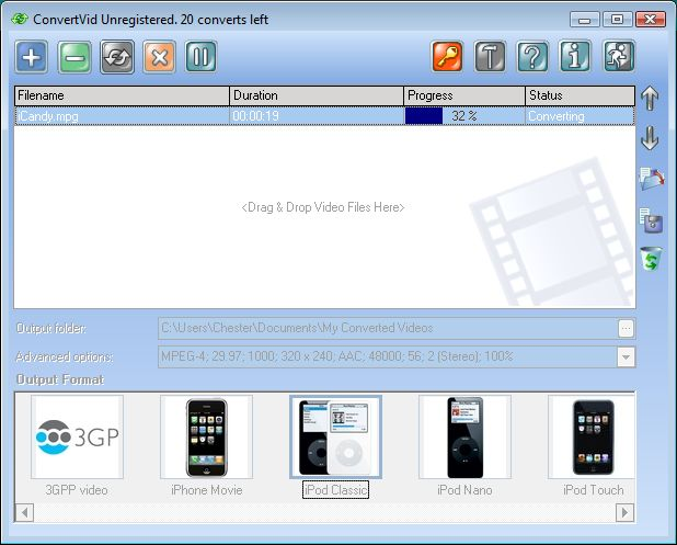 ConvertVid Screenshot